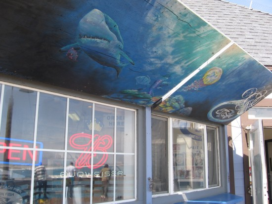 Some cool pics of the imperial beach pier cool san for Tin fish restaurant