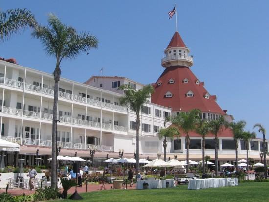 The iconic Hotel del Coronado is unbelievably gorgeous.