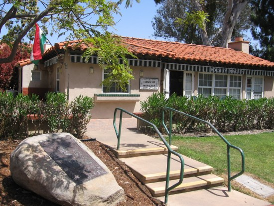House of Hungary in Balboa Park's International Cottages.