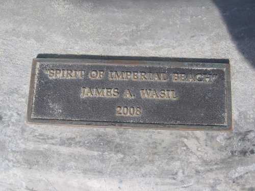 Spirit of Imperial Beach by James A. Wasil.