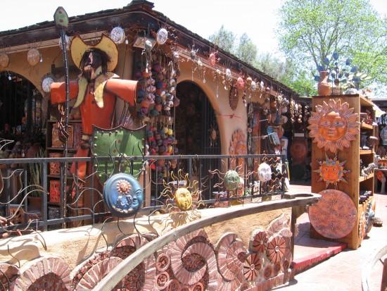 Miranda's Courtyard in San Diego's Old Town.