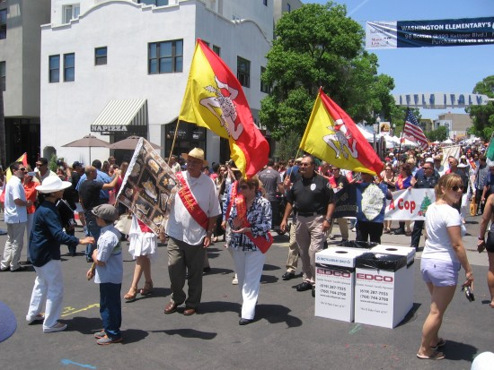 Flag Festival India: San Diego's Annual Sicilian Festival In Little Italy