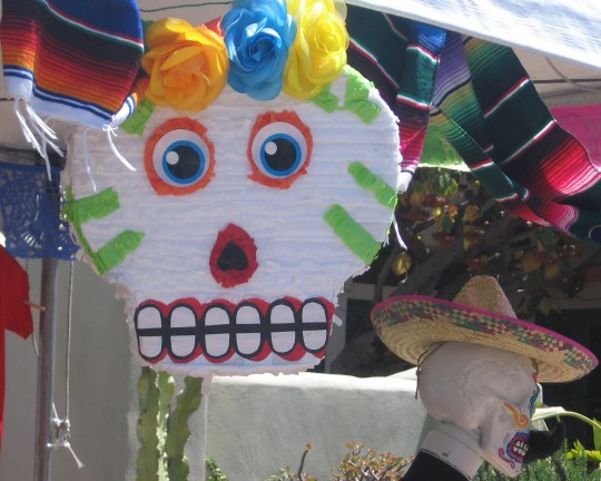 Colorful Mexican ornaments and gifts seemed to be everywhere.