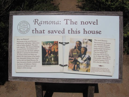 Ramona, a famous novel, saved historic buildings in Old Town.