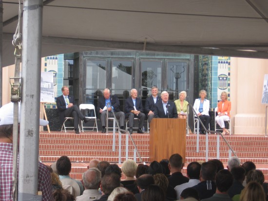 County Supervisor inaugurates new waterfront park.