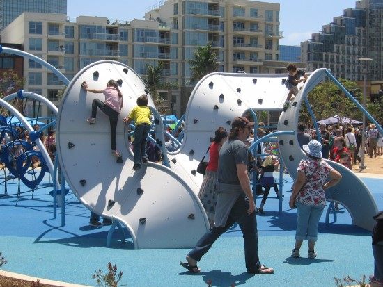 An awesome playground in downtown San Diego!