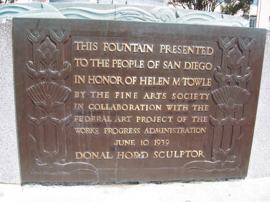 Donal Hord sculpture debuted in 1939.