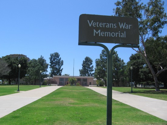 Veterans War Memorial in Balboa Park.