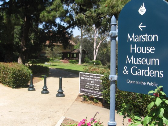 Marston House Museum and Gardens in a corner of Balboa Park.