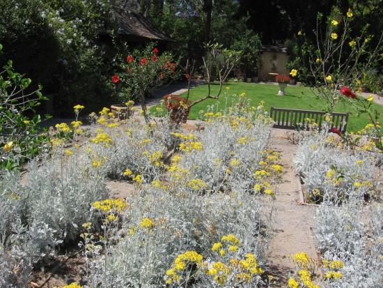 This beautiful garden is a popular wedding location.