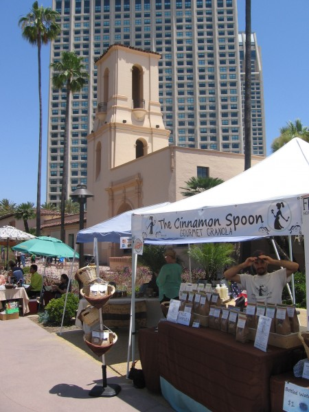 A farmers market is held on Sundays at The Headquarters.