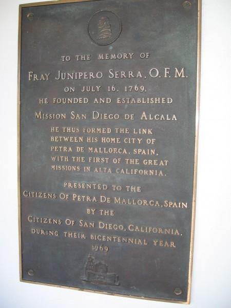 Petra de Mallorca, Spain linked to Father Junipero Serra.