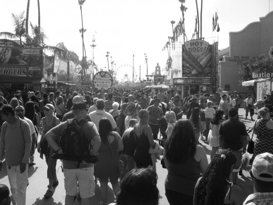 Cool photo of extremely popular 2014 San Diego County Fair.