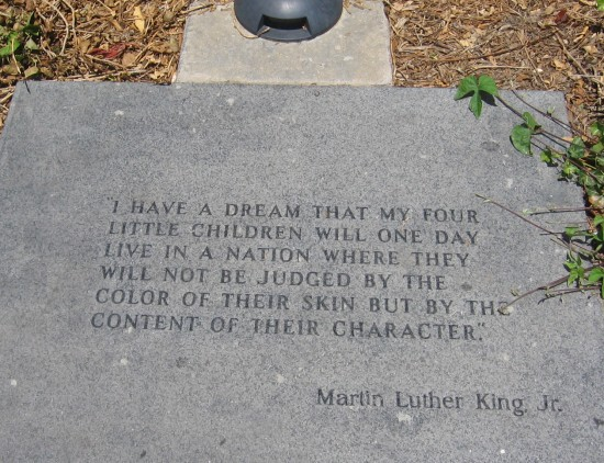 A very famous and wise quote by Martin Luther King Jr.