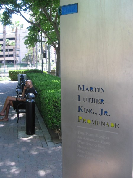 This park honors an American hero who stood for human dignity.