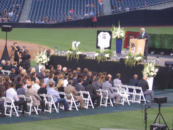 Ted Leitner remembers Tony and introduces many guests.
