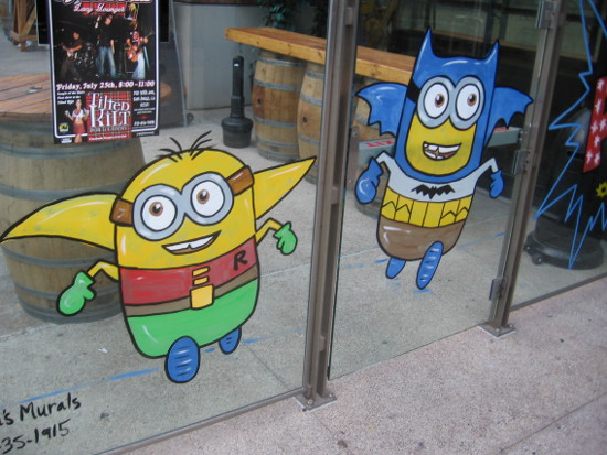 Two eager Minions try against all odds to duplicate the Dynamic Duo.