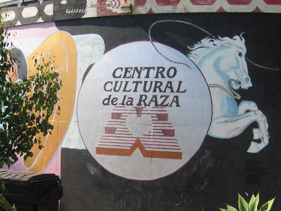 Centro Cultural de la Raza seen from Park Boulevard.