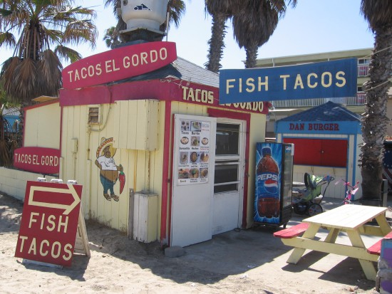 Fish tacos are a San Diego specialty!