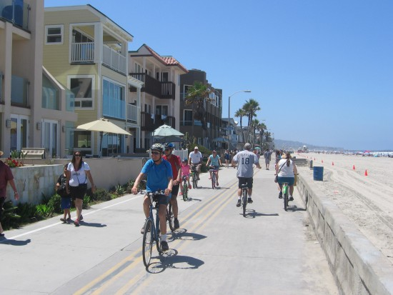 Bicycles are a very popular mode of transportation.