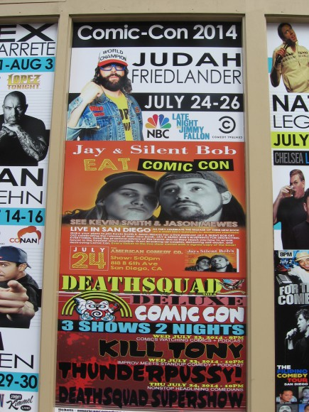 Jay and Silent Bob will eat Comic-Con!