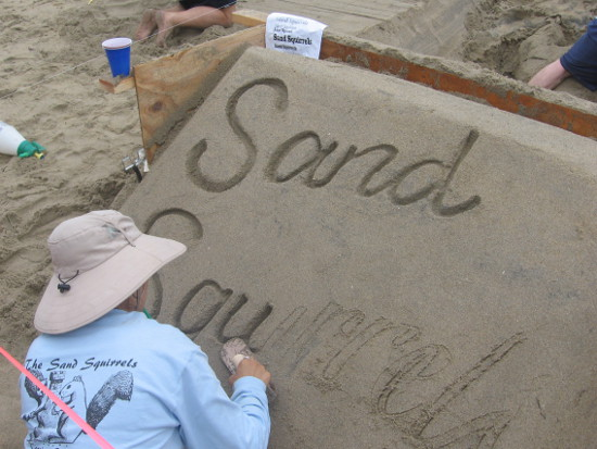 The Sand Squirrels was one team competing at the festival.