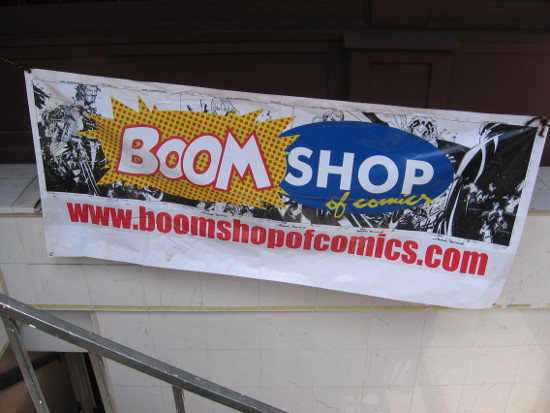 Boom Shop seems to be created for San Diego Comic-Con.