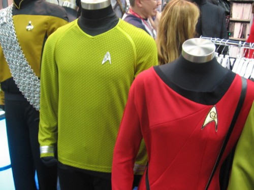Anything imaginable could be bought, including Star Trek uniforms.