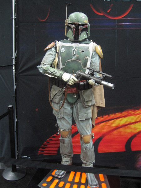 Cool detailed model of Boba Fett.