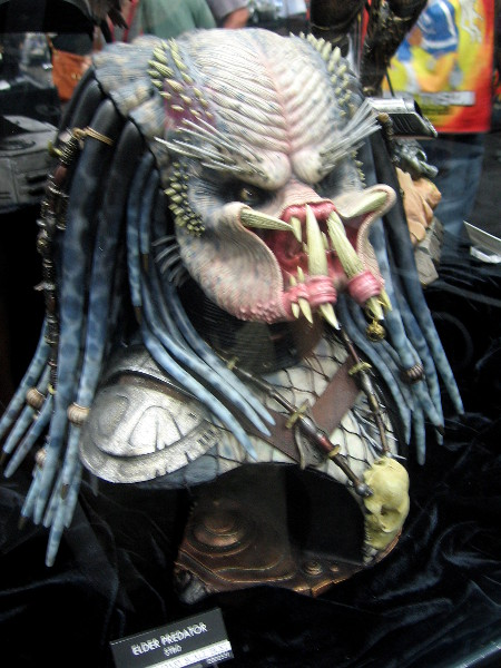 Super scary looking Predator head.