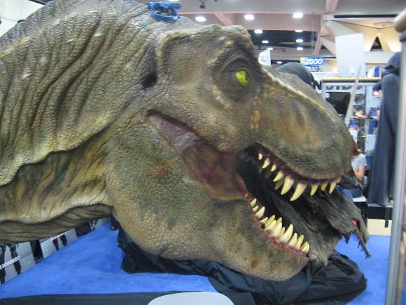 Looks like a T. Rex devouring a nearby Nazgul.