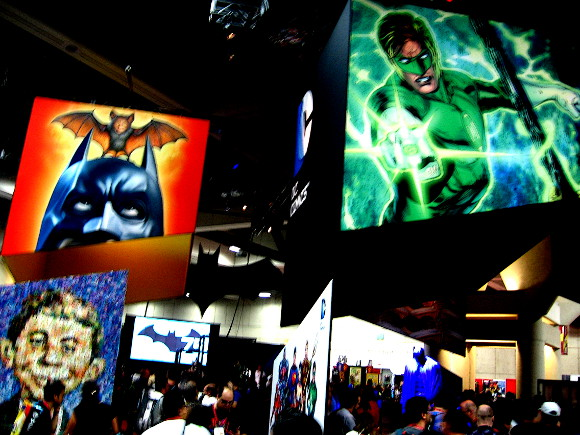 I modified this blurry image of the DC exhibit.