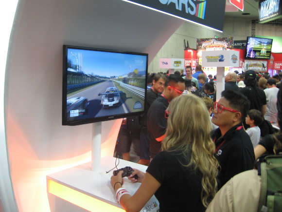 Lots of video games could be sampled including realistic racers.