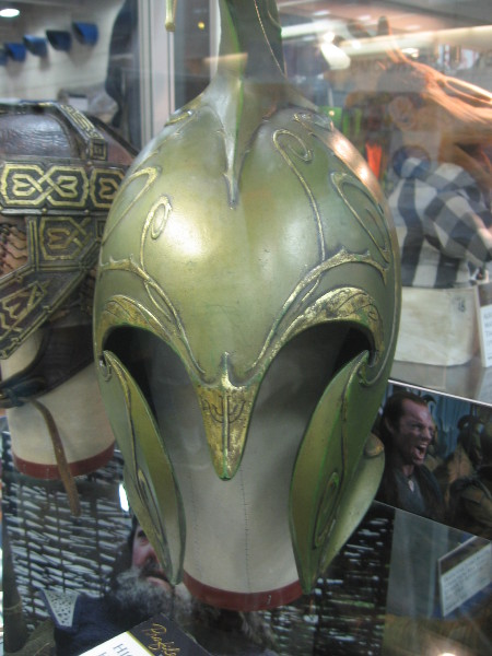Elven helmet from Lord of the Rings trilogy.