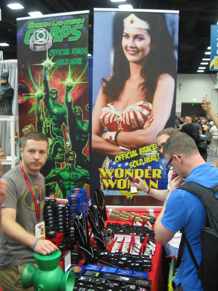 You could buy official Wonder Woman bracelets!