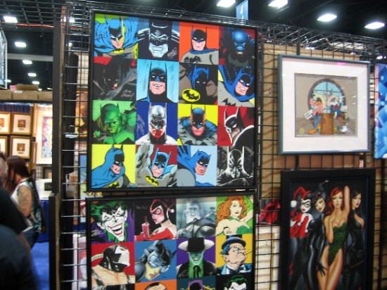 Batman and his rogue's gallery are always popular.