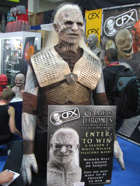 You could win a White Walker mask from Game of Thrones.