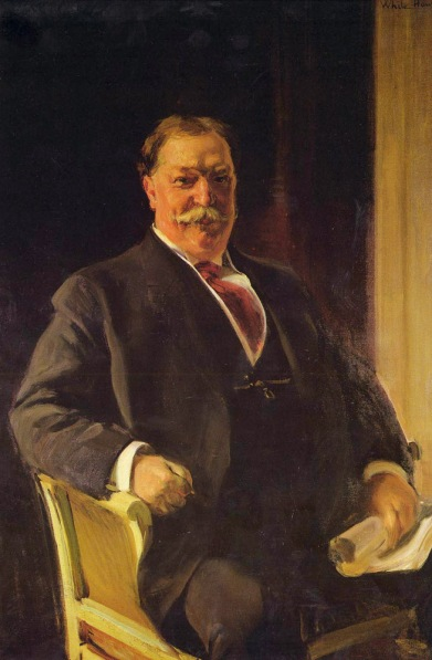 Joaquin Sorolla Portrait of President Taft, courtesy of Wikipedia.