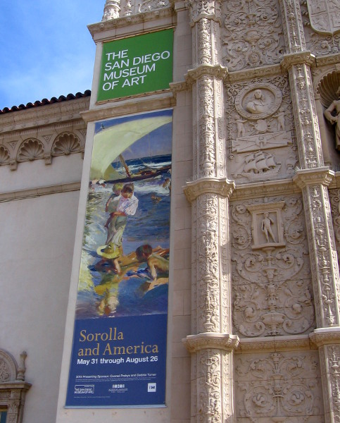 Sorolla and America special exhibit at San Diego Museum of Art.