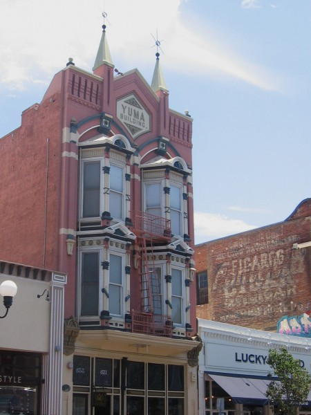 The Gaslamp's historic Yuma Building dates from 1882.