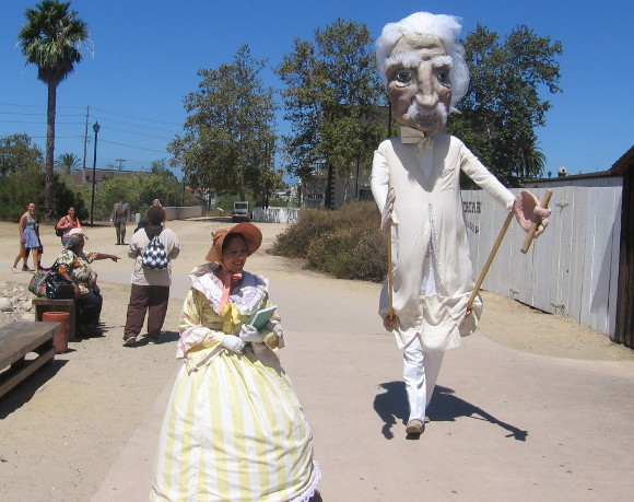 Here comes Mark Twain during Old Town San Diego's literary TwainFest!