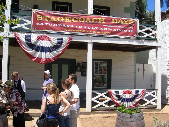 TwainFest is part of Stagecoach Days at Old Town San Diego State Historic Park.