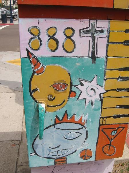 More fun street art in East Village.