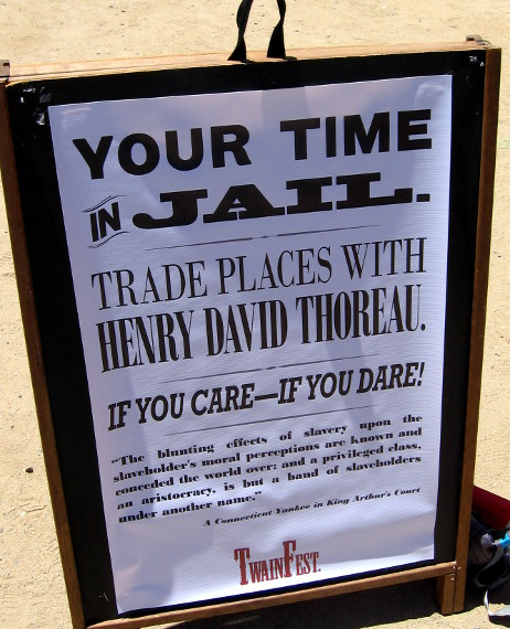 People could trade places with Henry David Thoreau.