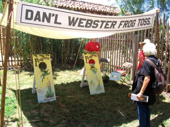 It's the Daniel Webster Frog Toss!