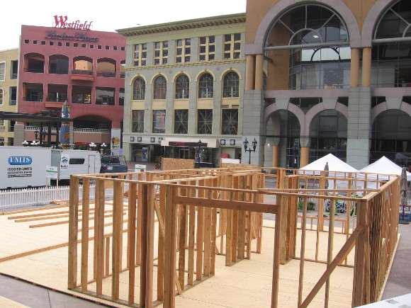 Habitat for Humanity is building a house in downtown's Horton Square!