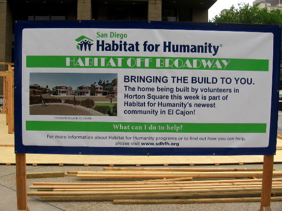 Habitat Off Broadway aims to touch those who live and work in San Diego.