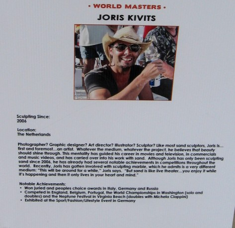 Joris Kivits from The Netherlands has won many awards in different countries.