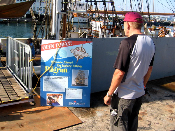San Diego Festival of Sail includes this historic, very interesting tall ship.