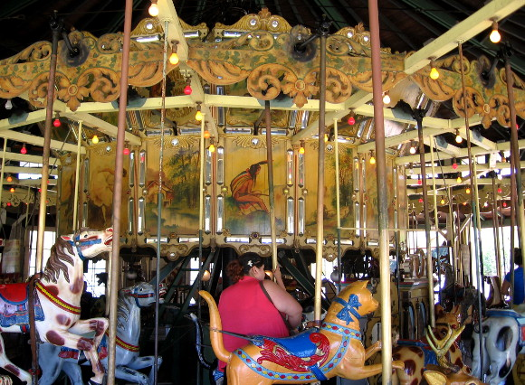 The carousel has stood in Balboa Park for exactly one hundred years!